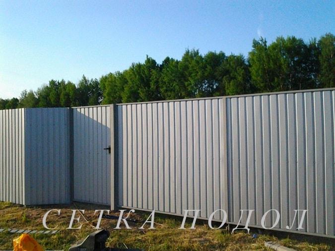 Заказать забор на дачу недорого ворота для дачи с калиткой купить
